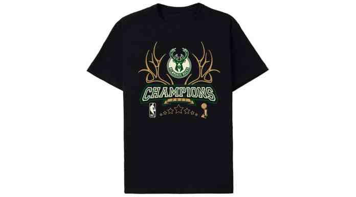 Camisa do Milwaukee Bucks da NBA.