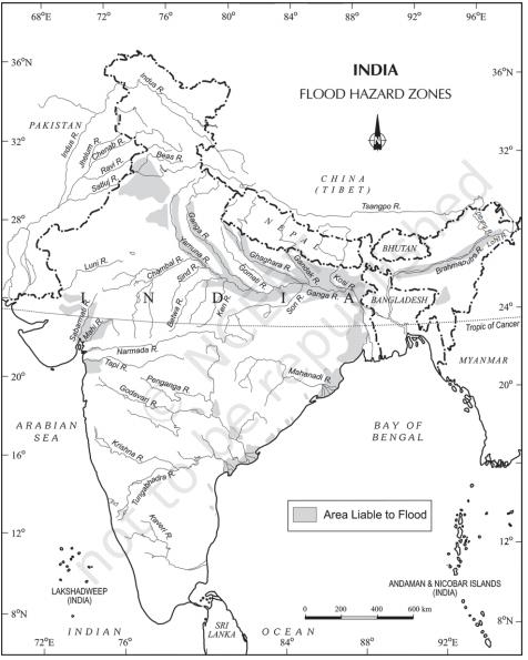 Flood hazard zone - Disaster Management