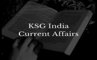 KSG India Monthly Current Affairs