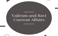 Vajiram and Ravi IAS Monthly Current Affairs