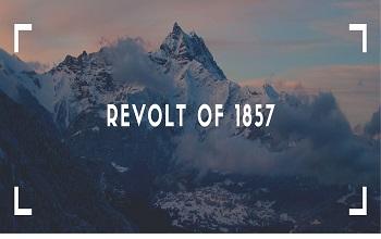 revolt of 1857 - Revolt Of 1857