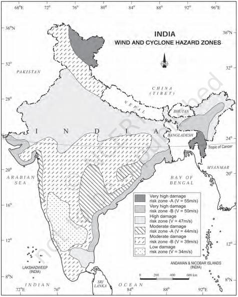 wind and cyclone hazard zone - Disaster Management