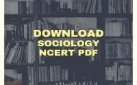 NCERT Sociology
