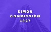 Simon Commission 1927