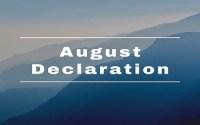 August Declaration-1917