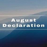 Montagu Declaration or August Declaration [1917]