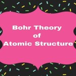 Bohr Theory of Atomic Structure