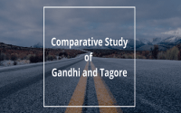 Comparative Study of Gandhi and Tagore