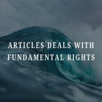 Articles Deals With Fundamental Rights