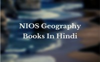 NIOS Geography Books In Hindi For Competitive Exam