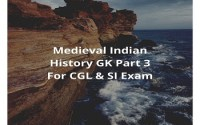 Medieval Indian History GK Part 3 For CGL & SI Exam