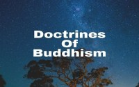 Doctrines Of Buddhism