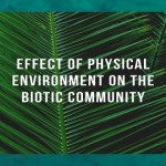 Effect of physical environment on the Biotic Community