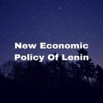 New Economic Policy Of Lenin