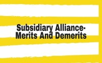 Subsidiary Alliance- Merits And Demerits