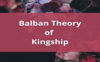 Balban Theory of Kingship