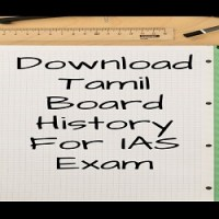 Download Tamil Board History For IAS Exam