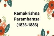 Ramakrishna Paramhamsa (1836-1886)