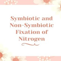 Symbiotic and Non-Symbiotic Fixation of Nitrogen