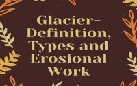 Glacier- Definition, Types and Erosional Work