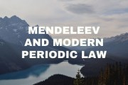 Mendeleev and Modern Periodic Law