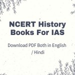NCERT History Books For IAS