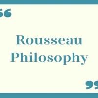 Rousseau Philosophy