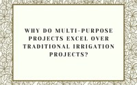 Multi-purpose Projects excel over Traditional Irrigation Projects