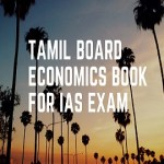 Download Tamil Board Economics Book For IAS Exam