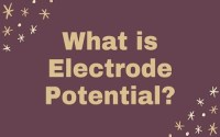 What is Electrode Potential
