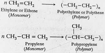 addition polymers - Polymer- Structure and Classification