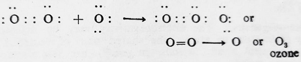 ozone reaction for coordinate covalent bond - Coordinate Covalent Bond