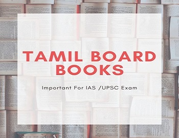 tamil nadu board books for UPSC Exam - Tamil Nadu Board Books: Important For UPSC, SSC, and State PSC Exam