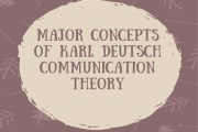 Major Concepts of Karl Deutsch Communication Theory