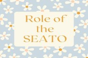 Role of the SEATO
