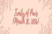 Treaty of Paris (March 30, 1856)