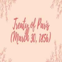 Treaty of Paris (March 30, 1856):