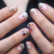 korean nail art - design