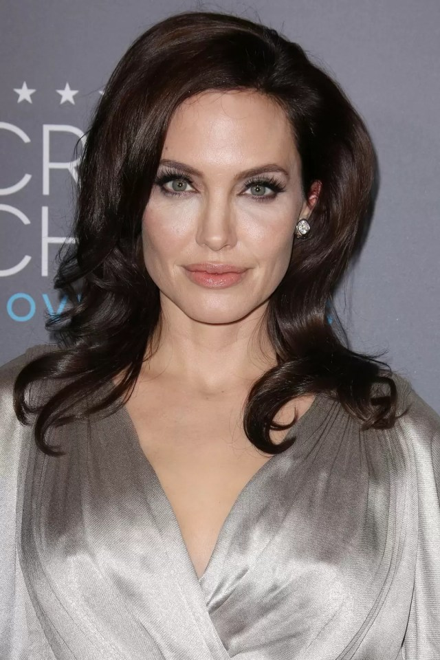 angelina jolie hair & makeup - celebrity beauty, changing