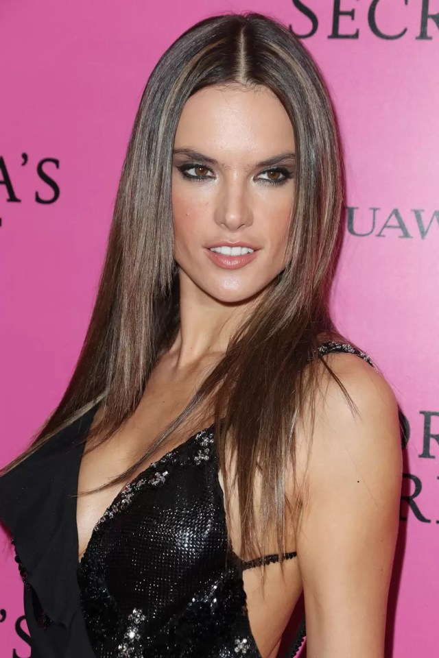 straight hairstyles: super sleek straight hair style