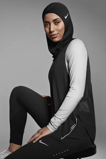No Brand Girls Wallpaper Nike Launch Hijab Collection Glamour Uk
