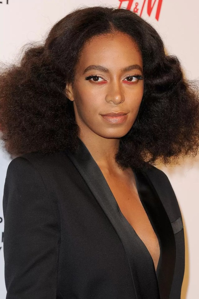 solange knowles best hairstyles & makeup - celebrity beauty