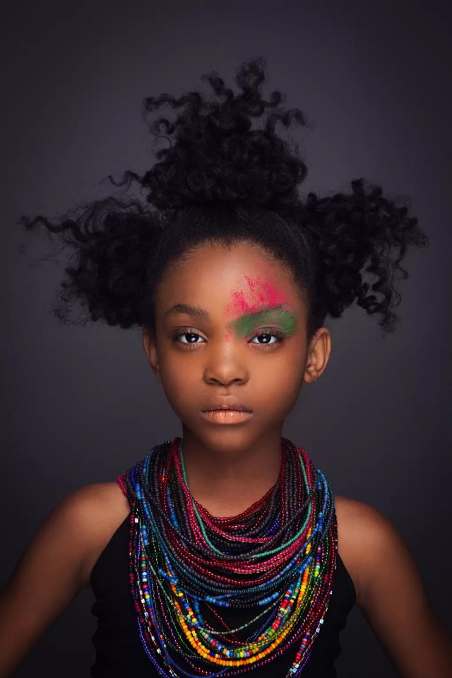 portraits of black girls rocking natural hair | glamour uk