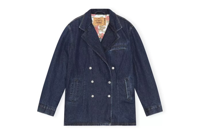 Ganni X Levi's Dark Denim Jacket, £375