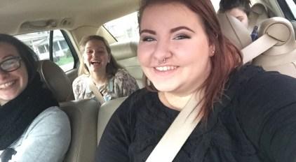 20th birthday fro-yo trip with friends!