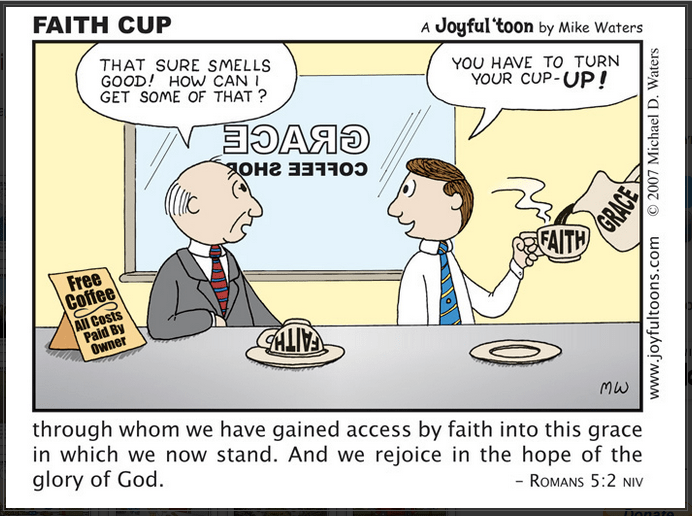 [First Aid – joyful toons]  43 Faith Cup