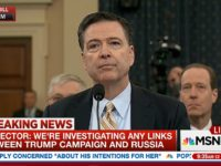 Comey: The FBI Is Investigating 'Whether There Was Any Coordination' Between Trump Camp and Russia