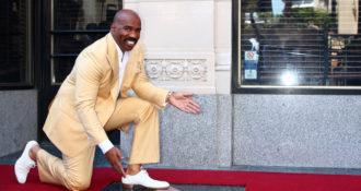 VIDEO:  Steve Harvey MUZZLES Snoop Dogg Regarding Trump Attacks