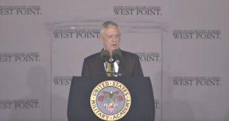 Secretary of Defense James Mattis Delivers Powerful Commencement Address at West Point Graduation