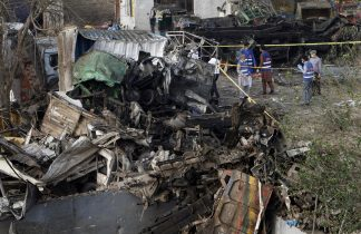 3 Dead in Massive Blast in Pakistan
